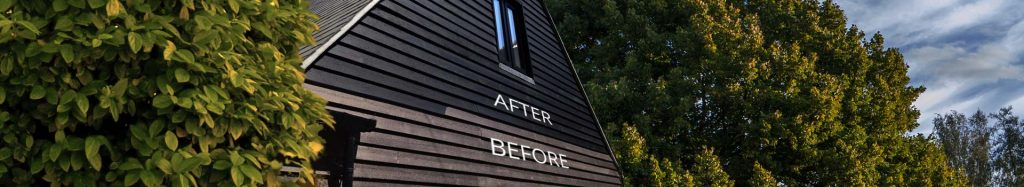 barn paint before and after